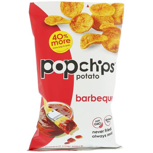 Popchips, Картофельные чипсы, барбекю, 5 унц. (142 г)