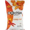 Popchips, Картофельные чипсы, очень острые, 142г