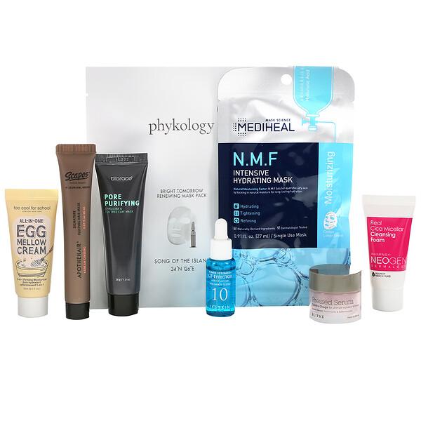 Promotional Products, K-Beauty Bag, V2, набор из 8 предметов (Discontinued Item)