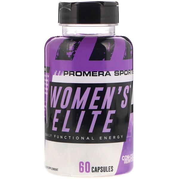 Promera Sports, Женская элита, ежедневная функциональная энергия, 60 капсул (Discontinued Item)