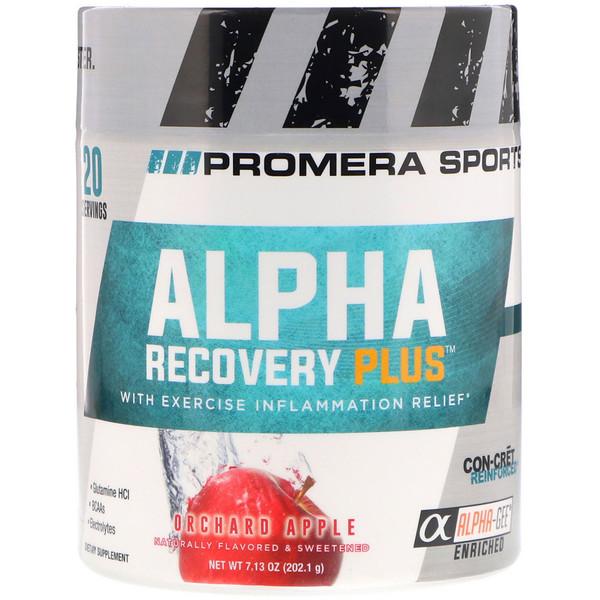 Alpha Recovery Plus, cадовое яблоко, 7,13 унц. (202,1 г)