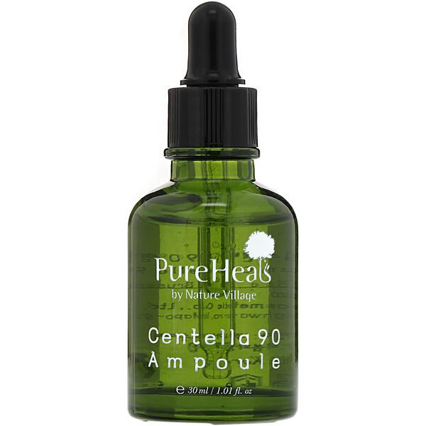 PureHeals, Centella 90 Ampoule, сыворотка, 30 мл (1,01 жидк.унции)