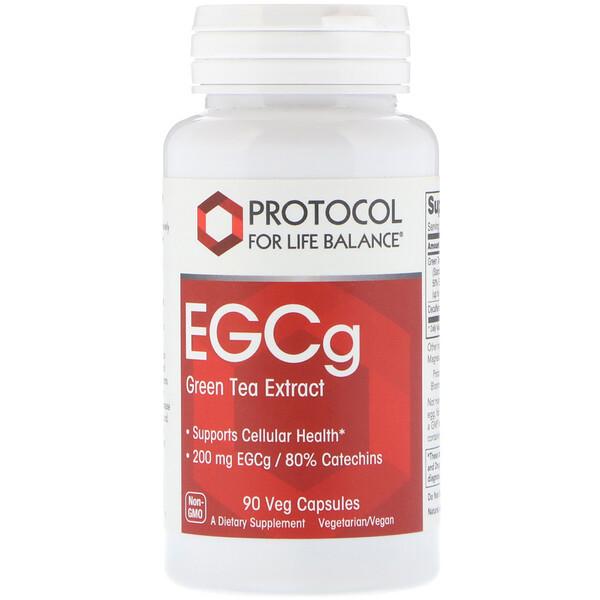 EGCg Green Tea Extract, 90 Veg Capsules