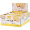 BNRG, Power Crunch, протеиновый энергетический батончик, лимонная меренга, 12батончиков, 40г (1,4унции) каждый
