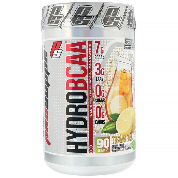 Hydro BCAA, Texas Tea, 1278 г (2,8 фунтов)