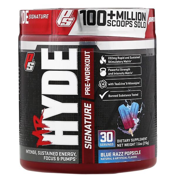 Mr. Hyde, Signature Pre Workout, со вкусом фруктового мороженого, 216г (7,6унции)