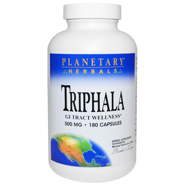 Трифала, 500 мг, 180 капсул