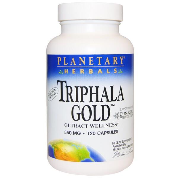 """""""Трифала Голд"""", здоровье желудочно-кишечного тракта, 550 мг, 120 капсул"""