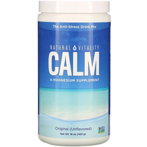 Calm, The Anti-Stress Drink, Original (Unflavored), 16 oz (453 g)