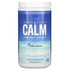 Natural Vitality, CALM с кальцием, антистрессовая смесь для напитков, оригинальный (без ароматизаторов), 454г (16унций)