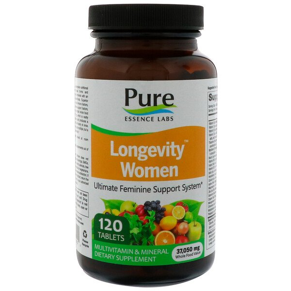 Longevity Women, 120 таблеток