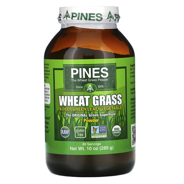 Порошок из травы пшеницы, 10 унций (280 г)