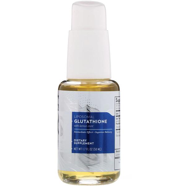 Quicksilver Scientific, Липосомальный глутатион с лимоном и мятой, 50мл (Discontinued Item)