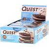 Quest Nutrition, Протеиновый батончик, печенье и сливки, 12 батончиков, 2,12 унции (60 г) каждый