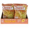 Quest Nutrition, Протеиновые чипсы а-ля тортилья, со вкусом сыра для начос, 32г (1,1унции)