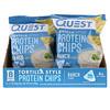 Quest Nutrition, Протеиновые чипсы а-ля тортилья, со вкусом соуса ранч, 32г (1,1унции)