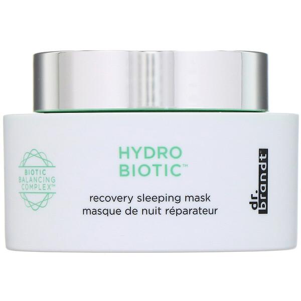 Dr. Brandt, Hydro Biotic, восстанавливающая ночная маска, 50г (Discontinued Item)