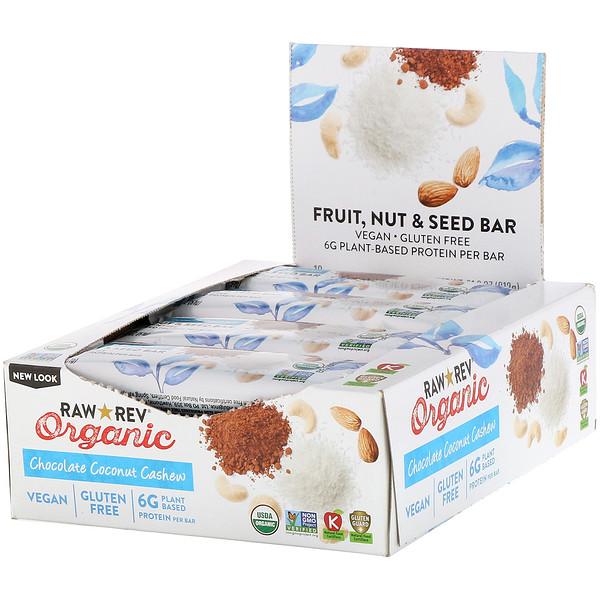 Органический продукт, Шоколадное кокосовое блаженство, 12 батончиков, 1,8 унц. (51 г) в каждом