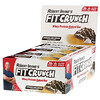 FITCRUNCH, Whey Preotein Baked Bar, Cookies and Cream, 12 Bars, 3.10 oz (88 g) Each
