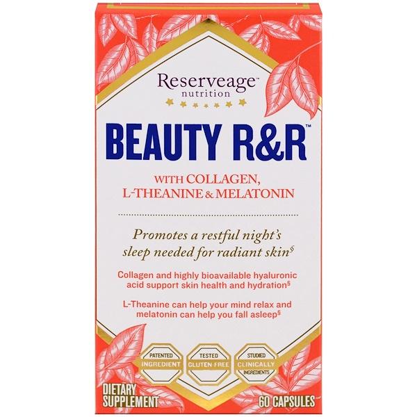 ReserveAge Nutrition, Красота, отдых и восстановление, 60 капсул (Discontinued Item)