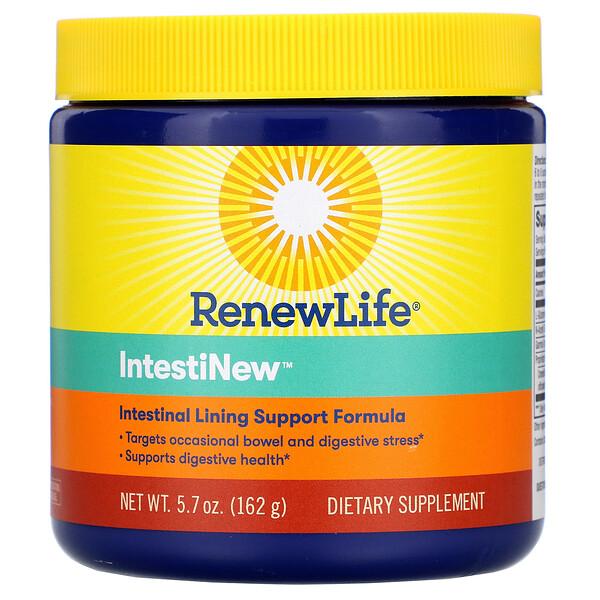 Renew Life, IntestiNew, формула для поддержки слизистой оболочки кишечника, 5.7 унций (162 г)