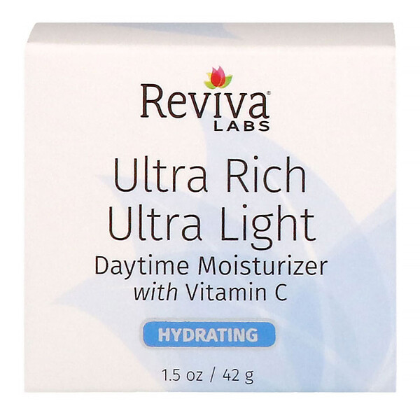 Ultra Rich Ultra Light, дневное увлажняющее средство с витамином С, 42 г (1,5 унции)
