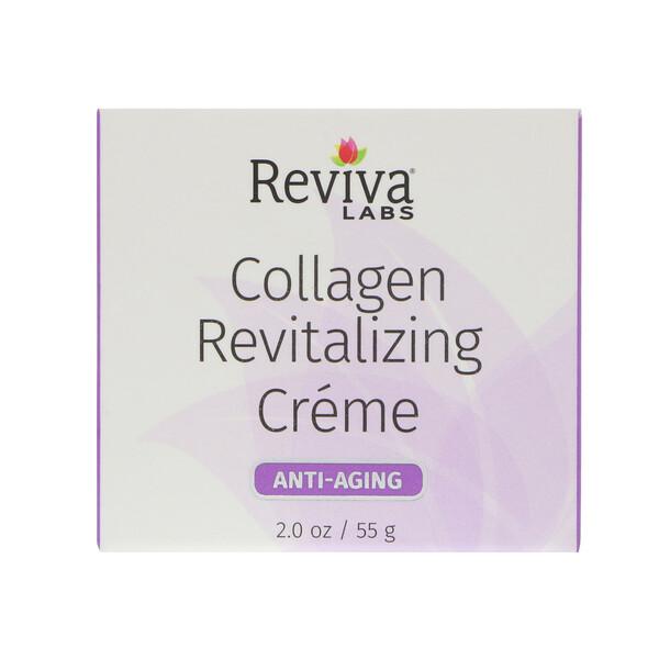Reviva Labs, Коллагеновый крем оздоравливающего действия, антивозрастной, 2 унц. (55 г) (Discontinued Item)