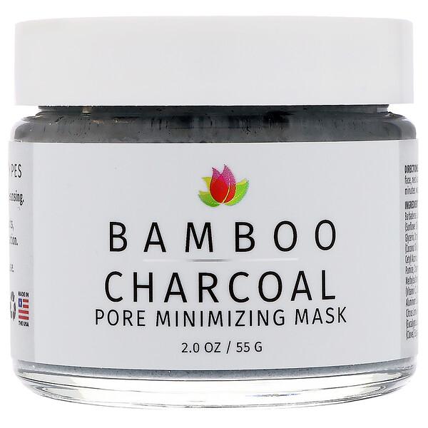 Бамбуковый уголь, маска для сужения пор, 2 унции (55 г)