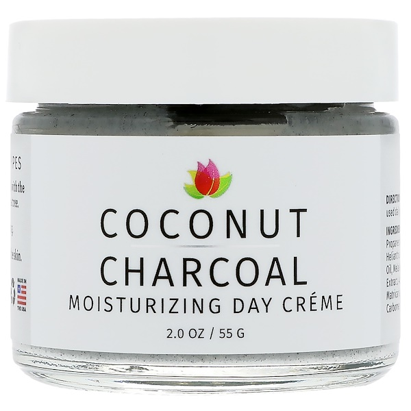 Reviva Labs, Coconut Charcoal Moisturizing Day Creme, 2 oz (55 g) (Discontinued Item)