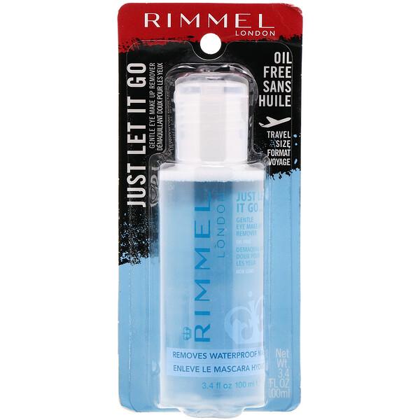 Средство для снятия макияжа Just Let It Go для чувствительной кожи глаз, без масла, 100мл