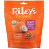 Riley's Organics, Лакомства для собак, маленькая косточка, рецепт с тыквой и кокосом, 142г (5унций)