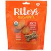 Riley's Organics, Лакомства для собак, большая косточка, рецепт с бататом, 142г (5унций)