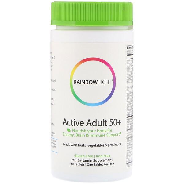 Rainbow Light, Active Adult 50+, 90 таблеток