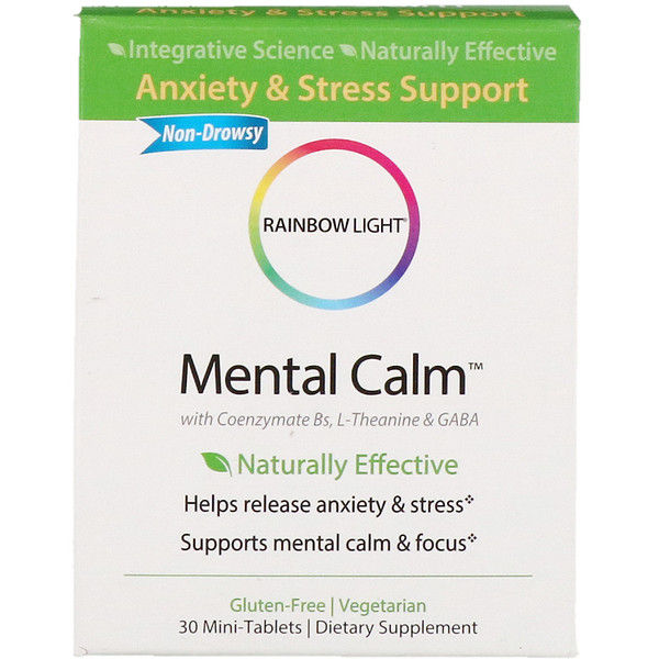 Rainbow Light, Спокойствие ума, 30 мини-таблеток (Discontinued Item)