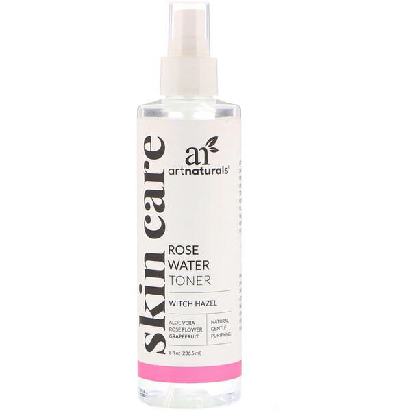 Artnaturals, Тоник из розовой воды, 236,5 мл