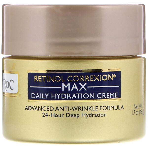 RoC, Retinol Correxion Max, дневной увлажняющий крем, 1,7 унц. (48 г)