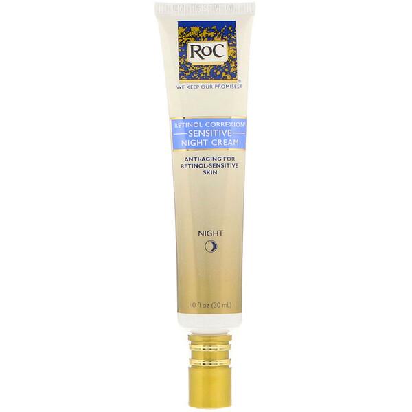 Ретинол Коррексион, ночной крем для чувствительной кожи, 1 жидк. унц. (30 мл)