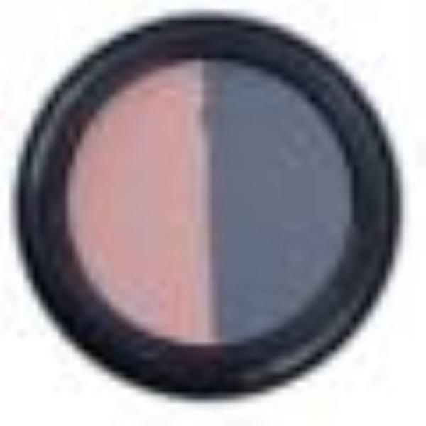 Real Purity, Eyeshadow Duo, Navy/Ice Rose (Discontinued Item)