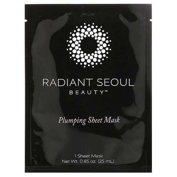 Plumping Sheet Mask, 1 Sheet Mask, 0.85 oz (25 ml)