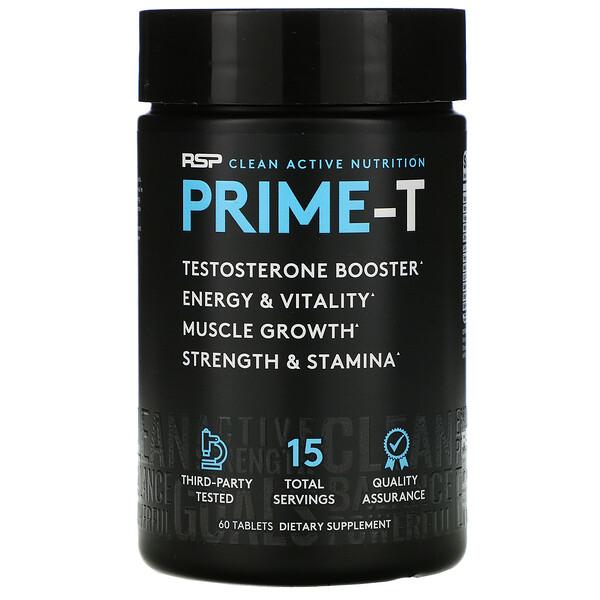 Prime-T, добавка для повышения уровня тестостерона, 60таблеток
