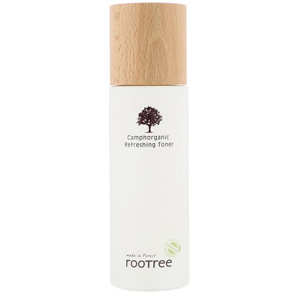 Rootree, Camphorganic, освежающий тонер, 125мл (4,28жидк.унции) (Discontinued Item)