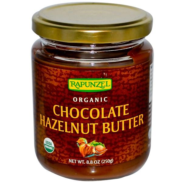 Rapunzel, Органическое шоколадное ореховое масло, 8,8 унции (250 г) (Discontinued Item)