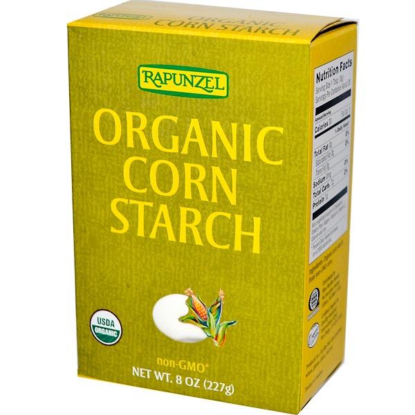 Органический кукурузный крахмал, 8 унций (227 г)