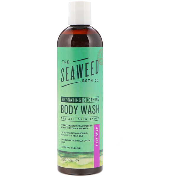 Hydrating Soothing Body Wash, Lavender, 12 fl oz (354 ml)