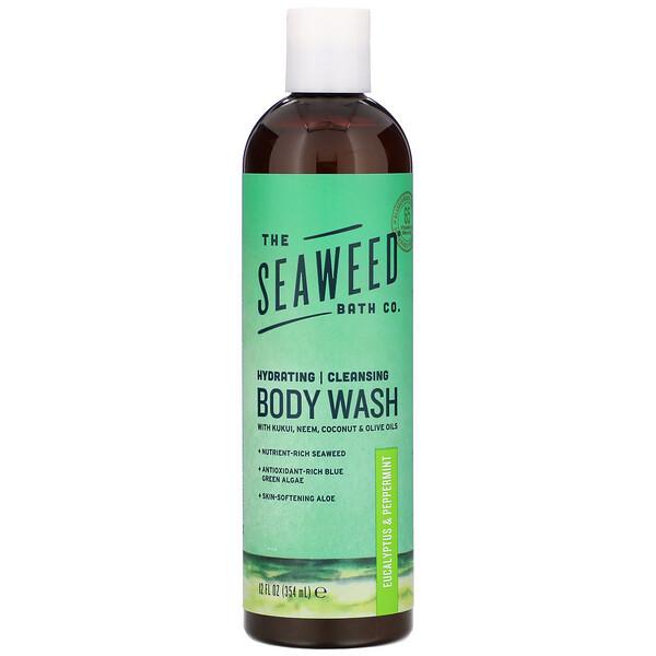 Hydrating Cleansing Body Wash, Eucalyptus & Peppermint, 12 fl oz (354 ml)