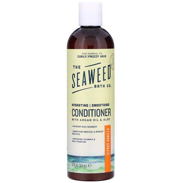 The Seaweed Bath Co., Hydrating Smoothing Conditioner, Citrus Vanilla, 12 fl oz (354 ml) (Discontinued Item)