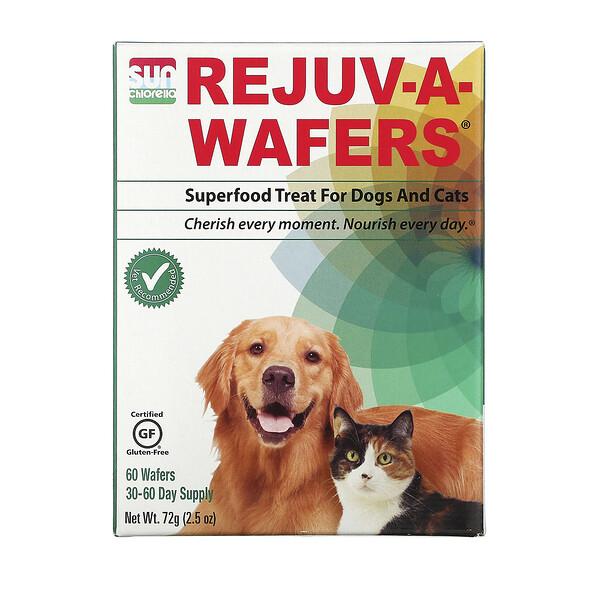Восстанавливающие вафли, суперпродукт для собак и кошек, 60 вафель