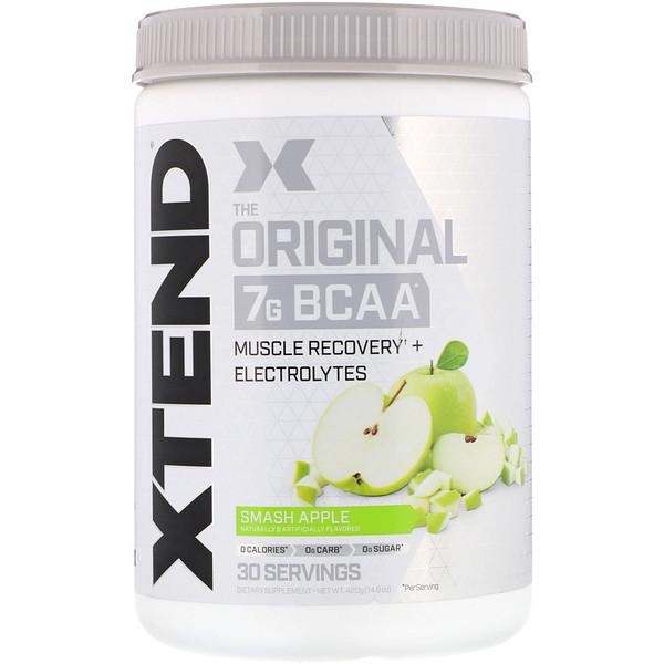 The Original, 7г аминокислот с разветвленной цепью (BCAA), со вкусом яблока, 420г (14,8унции)