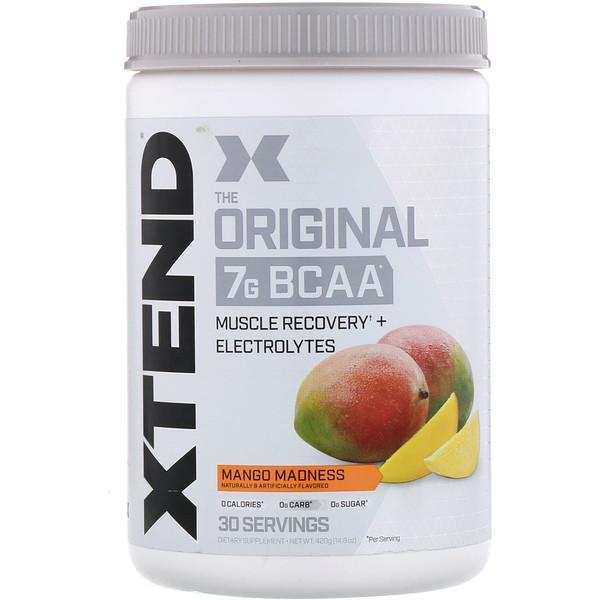 The Original, 7г аминокислот с разветвленной цепью (BCAA), со вкусом манго, 420г (14,8унции)