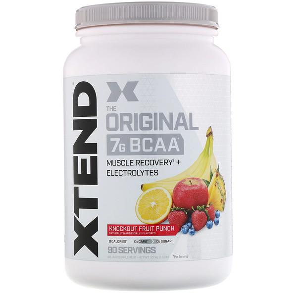 The Original, 7г аминокислот с разветвленными цепями, со вкусом фруктового пунша, 1,22кг (2,68фунта)
